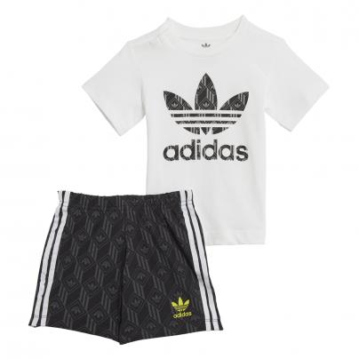 Babyswag vêtement enfants GD 2881 ensemble short T shirt adidas