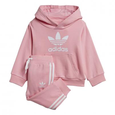 Babyswag ensemble pour enfant rose DV2810 adidas trefoil hoodie