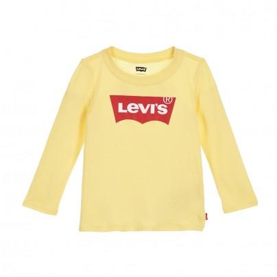 Babyswag_vêtements_Enfants_1EA215_Y1M_Tee_shirt_manche_longue_jaune_levis