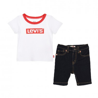 baby swag vêtements enfants 6EA824 001 ensemble short levis