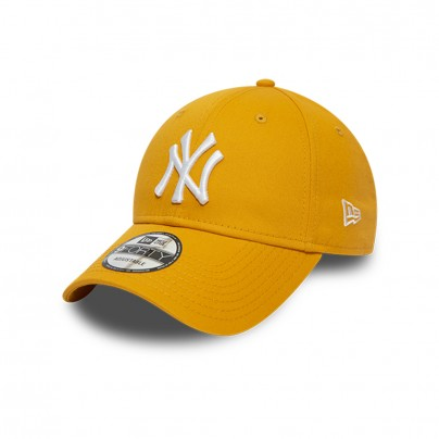 Casquette NY Jaune Moutarde & Blanc