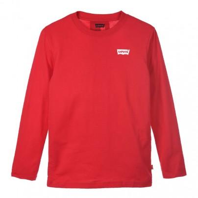 tee shirt LEVIS CRIMSON red