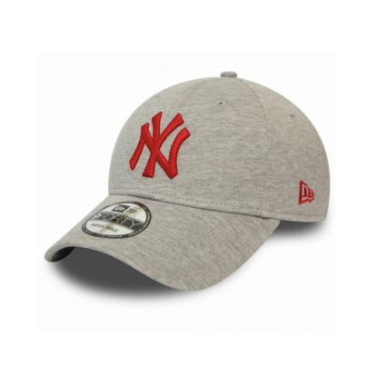 NY Casquette grise logo rouge