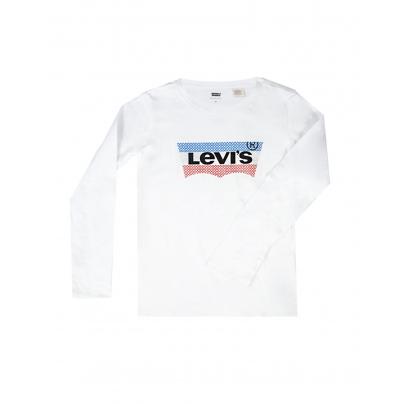 tee shirt LEVIS WHITE SEQ