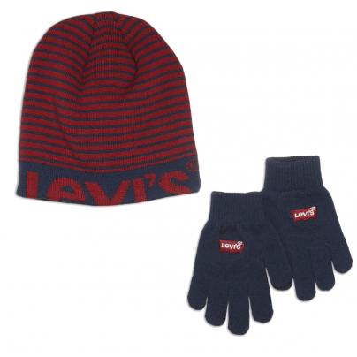 KIT Gants + bonnet LEVIS...